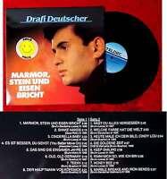 LP Drafi Deutscher: Marmor, Stein und Eisen bricht (Teldec 626 527 BL) D 1987