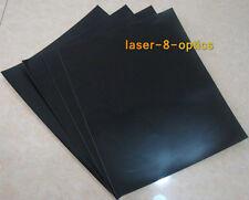 5pcs A4 laser-align papers double-face black photo papers adjust beam focus spot