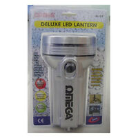 Omega 25253 6 Volts Weather Proof 8 LED Deluxe Lantern with Dual Battery Option