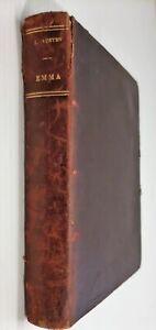 AUSTEN, Jane.   Emma (Tauchnitz edition, full leather)