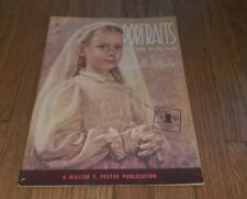 Portraits And How To Do Them by Stella Mackie Walter T Foster art artist book sc