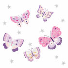 Bedtime Originals Butterfly Kisses Pink/Purple Wall Decals/Appliques