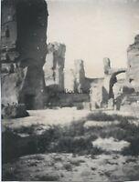 Thermes Da Caracalla Roma Italia Foto Amateur Vintage Ca