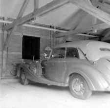 WW2 Photo WWII  Hitlers Car at Berghof Berchtesgaden Austria May 4 1945 / 8017