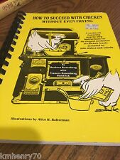 How to Succeed With Chicken Without Even Fry Cookbook Illust Free Ship