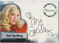 Tori Spelling Inkworks Smallville autograph auto card A49