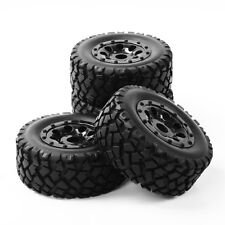 107mm Short Course Tire Wheel Rim 4X12mm Hxe For Racing TRAXXAS SLASH 1:10 Truck