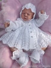 PRINTED PAPER KNITTING PATTERN TO MAKE **** CLOVER **** FOR BABY OR REBORN DOLLS