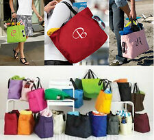 6 Personalized Monogrammed Embroidered Tote Bags Bridesmaid Gift Bridal Shower