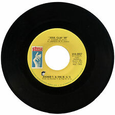 "BOOKER T & THE MG's  ""SOUL CLAP '69 c/w MRS ROBINSON""     CLASSIC SOUND  LISTEN!"
