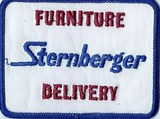 Sternberger Furniture Delivery truck driver patch 3 X 4 Inch #1061