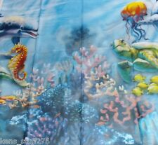 Dolphin Table Cover, Birthday Party,  1pc, Under the Sea Theme Party, Bake Sale