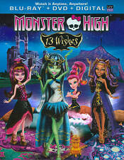MONSTER HIGH - 13 WISHES (BILINGUAL) (DVD)