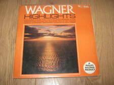 WAGNER HIGHLIGHTS ~ DETROIT SYMPHONY ORCHESTRA ~ PAUL PARAY VINYL LP WING REC