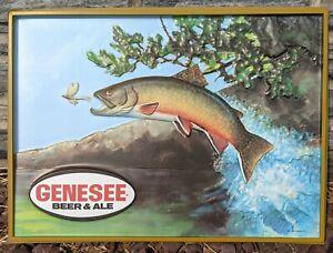Genesee Beer Plastic Insert Rainbow Trout