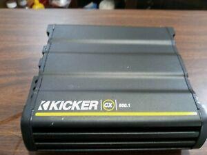Kicker Cxa600.1 600 watts. Mono amplifier. Cxa300.1 FREE SHIPPING!