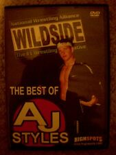 NEW The Best of AJ Styles DVD 2000-2003 Highspots NWA Wildside WWE TNA WWF WCW