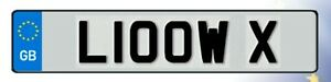L10 OWX Cherished Reg Number Plate LOW VW AUDI SCENE AIR RIDE BMW CLASSIC SHOW
