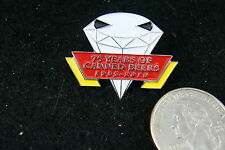 75 YEARS OF CANNED BEARS 1935-2010 PIN