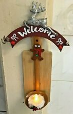 Christmas Candle Holder Handmade