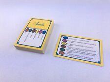 TRIVIAL PURSUIT Lot DE 50 Cartes Jeu Edition FAMILLE (- De 14 Ans)300 Questions