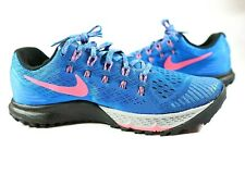 Nike Air Zoom Mens Size 9 Terra Kiger 3 Blue Trail Running Shoes 749334-403