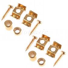 2set Gold String Tree Retainer Guide For Tele/Strat Guitar Body Custom Set