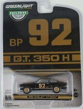 1:64 GreenLight Hobby Exclusive Black 1966 Shelby Mustang Gt350H #92 Bp