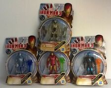 Marvel Ironman 3 Set of 4 action figures. Hydro Shock, Shatter Blaster, Cold Sna