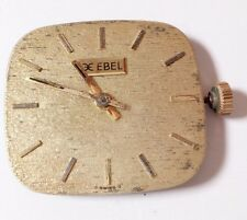 EBEL 78X  WRISTWATCH MOVEMENT - COMPLETE & CRYSTAL