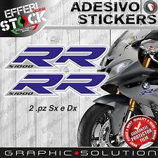 Adesivi/Stickers compatibili BMW S 1000 RR 08-16 HP4 MOTORRAD Blue TOP QUALITY