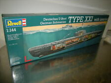 1:144 Revell Deutsches U-Boot Type XXI with Interior Nr. 05078 in OVP