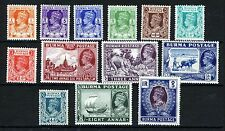 Colony Multiple Burmese Stamps (Pre-1948)