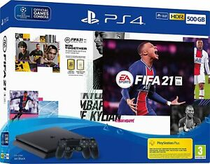 Sony PlayStation 4 500GB Console + Fifa 21 + Extra DualShock 4 Controller Option