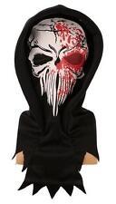 Masque cagoule Skull en sang Halloween