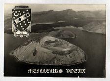 MARINE DJIBOUTI (DJIBOUTI) BLASON & Vue aérienne / BONNE ANNEE en 1979