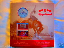 CANADA 2012 Calgary Stampede - Coloured Coin and Stamp Set