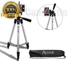 "Acuvar 50"" Aluminum Hold Stand Camera Tripod Universal Smartphone Iphone Galaxy"