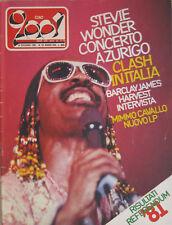CIAO 2001 24 1981 Stevie Wonder Clash Barclay James Harvest Visage Georgie Fame