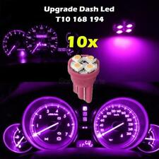 10x Pink Purple Gauge Instrument Cluster Speedometer Dash 4-SMD LED Light Bulbs