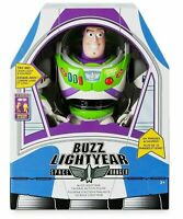 """DISNEY TOY STORY BUZZ LIGHTYEAR INTERACTIVE TALKING ACTION FIGURE 12"""" NEW AUTH"""