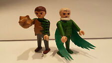 playmobil superheroes marvel villanos spiderman buitre y sandman custom