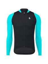 Etxeondo Men's Gailur Long Sleeve Cycling Jersey Large Black / Blue MSRP $148.50