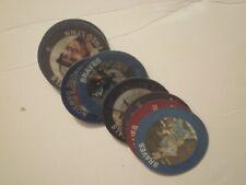 1985 7-11 Slurpee Coins (16) Nm/Mt * Nolan Ryan & others