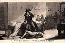 CPA PARIS Histoire de la Révolution Assasinat de Lepelletier (305406)