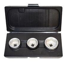 """ATD 3pc 3/8"""" dr GM & European Oil Filter Socket Set 27, 32, 36mm #5233"""