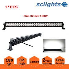 "32""inch 180W LED Light Bar Flood Spot Combo Driving Offroad UTE 4WD Fog Boat /33"