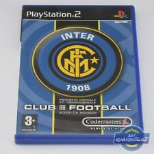 Club Football: Inter Milan PS2 Game - Complete with Manual VGC Sony PlayStation