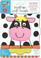 Galt TEETHER SOFT BOOK - FARM Baby Activity Toy BN