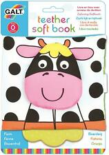 Galt TEETHER SOFT BOOK - FARM Baby Activity Toy BN